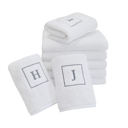 Initial Face Towel
