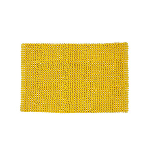 Fresh bath mat yellow